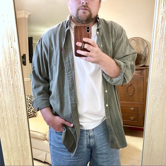 Men's vintage polo shirt. Dad shirt
